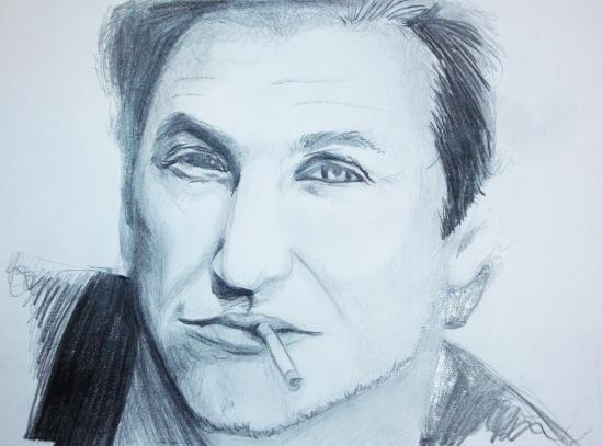 Sean Penn por Taniou